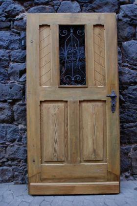 Haustüren holz antik  Antike Haustür Gründerzeit - Bau-Antik | Historische Türen und ...