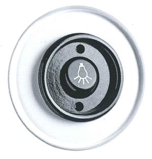 Nostalgie Lichtschalter unterputz schaltersystem glas mit bakelit schwarz aus unserem thpg